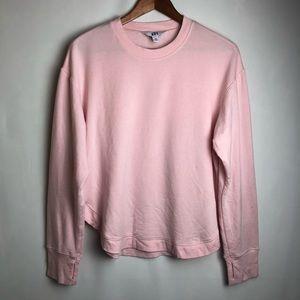 Joy Lab Pink soft crew neck sweat shirt